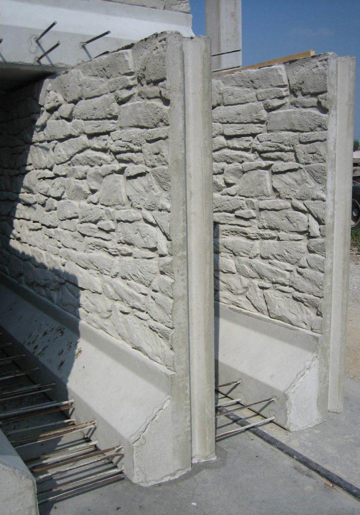 Muri di contenimento in cemento Giaveno