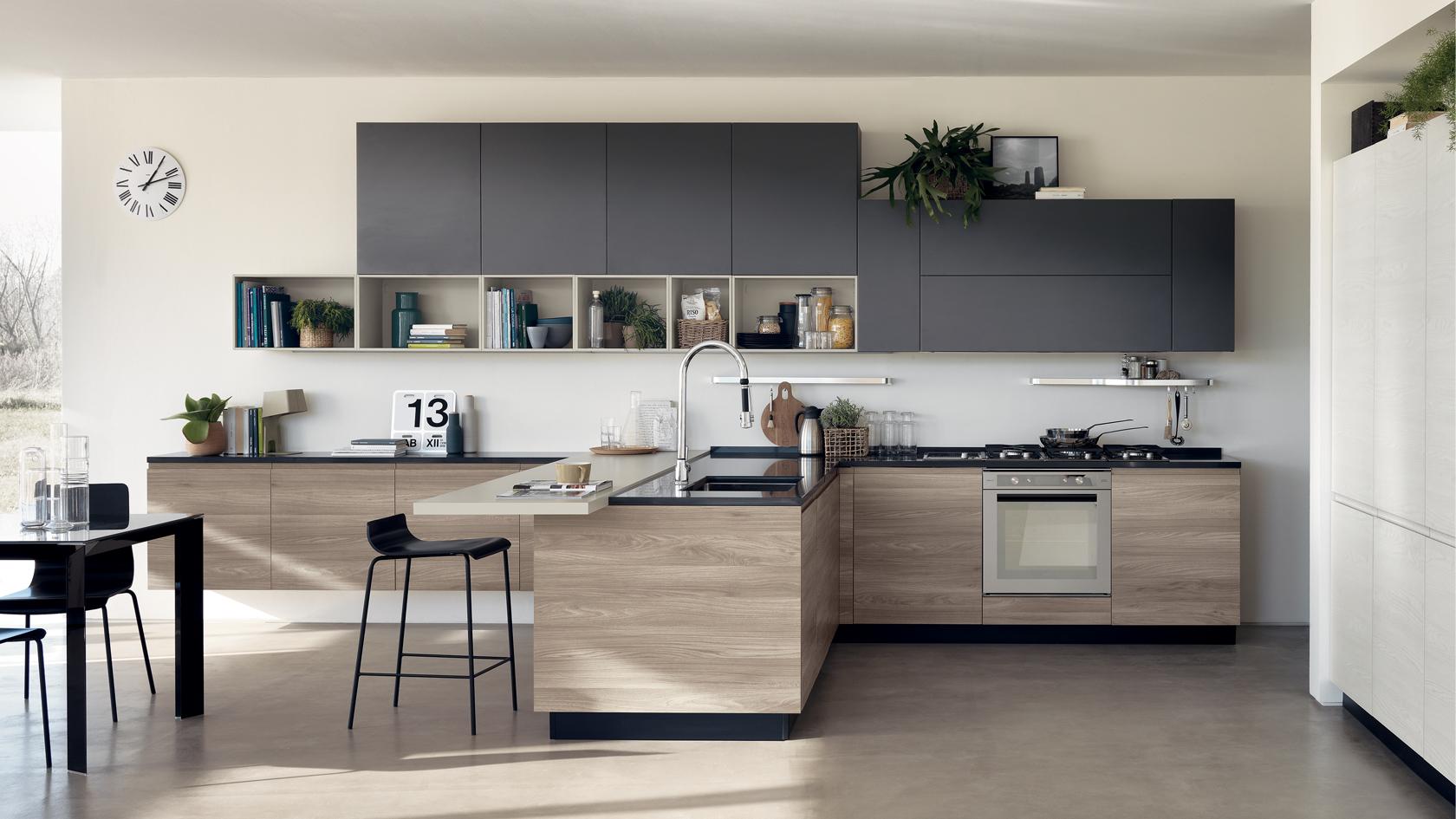cucine con isola moderne Moncalieri