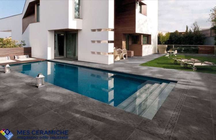 Rivestimento piscine gres San Maurizio Canavese