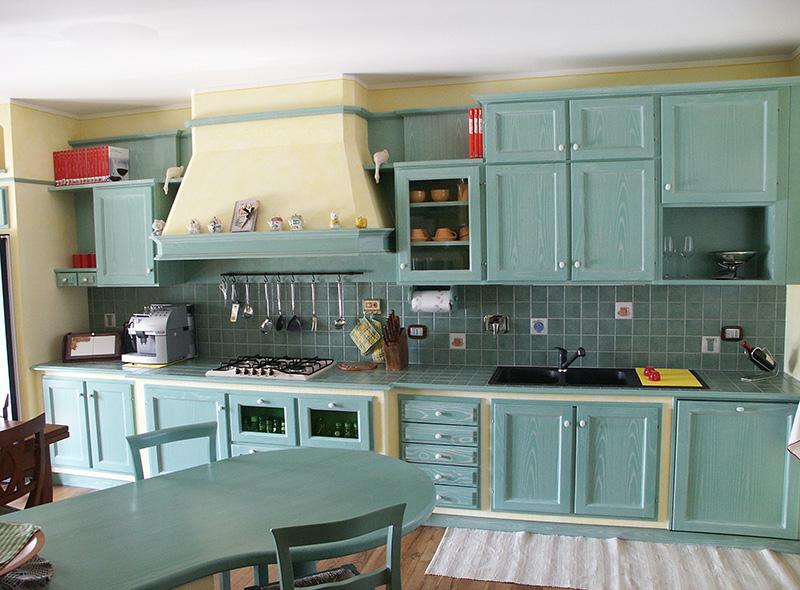 Cucine finta muratura Giaveno